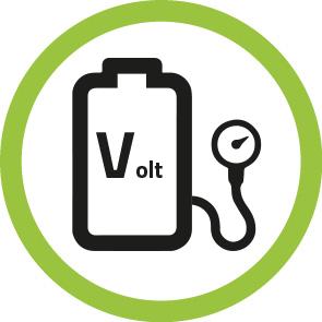 """Batterimåler """"E-Volt"""""""